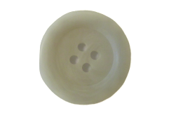 Ivory 4-Hole Resin Buttons