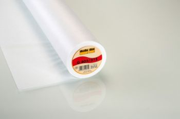 White Medium Weight Easy Fuse Iron-on Non-Woven Interfacing/Interlining by Vilene Vlieseline 90cm wide