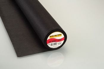 Charcoal Heavy Weight Standard Iron-on Non-Woven Interfacing/Interlining by Vilene Vlieseline 90cm Wide
