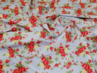 100% Cotton Poplin Printed Fabric - OTL5069