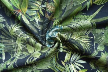 Lady McElroy Foliage Canopy - Linen Chambray
