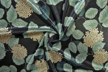 Lady McElroy Hydrangea - Midnight - Plush Velour