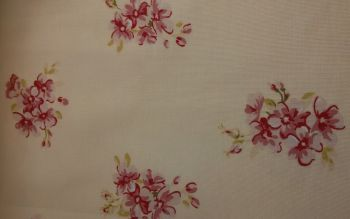 Country Cream Floral Print