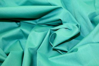 Plain Polycotton Scrubs - Summer Jade Remnant - 1.6m