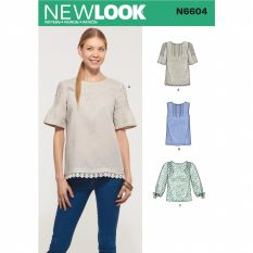 New Look 6604 Sewing Pattern