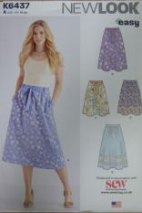 New Look K6437 Sewing Pattern