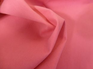 Candy Pink Cotton Drill Remnant - 1.5m *Seconds*