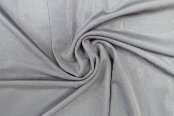 Knitted Jersey Lining - Powermesh-Dove Grey Remnant - 0.9M - Faulty