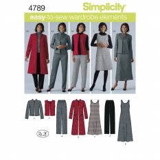 Simplicity 4789 Sewing Pattern