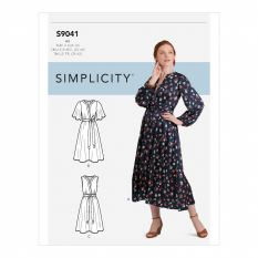 Simplicity 9041 Sewing Pattern