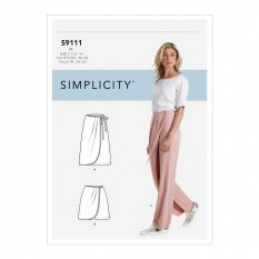 Simplicity 9111 Sewing Pattern