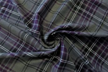SW189 - Tartan Suiting Twill Remnant - 2.3m