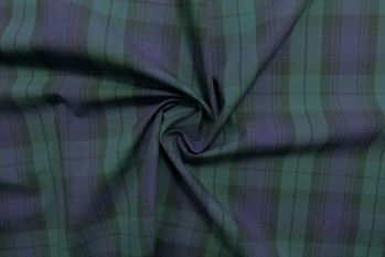 SW429 - Blackwatch Tartan Shirting Check