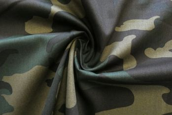 SW587 - Camouflage Chino Drill