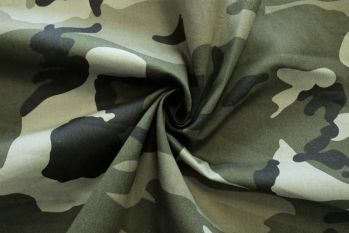 SW588 - Camouflage Chino Drill