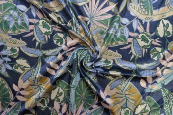 Lady McElroy Tropical Palms - Plush Velour